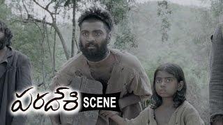 Atharva Adopts Dhansika Daughter And Stuck In Estate - Emotional Scene - Paradesi Movie Scenes