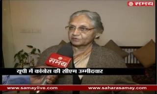 Sheila Dixit in favour of Congress-SP alliance in UP