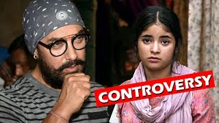 Aamir Khan SUPPORTS Zaira Wasim In Controversy, Says Leave Her Alone