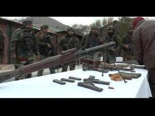 सेना ने ध्वस्त किया एक आतंकी ठिकाना, भारी मात्रा में गोलाबारूद बरामद