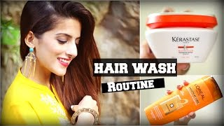 How To: Wash Your Hair Correctly / Properly And Stop Hair Fall / Hair Washing Routine
