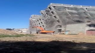 Building Collapse in Hyderabad | Oh my god Under Construction Building Collapse | Viral Videos 2016
