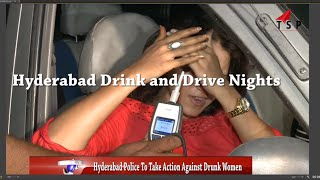 Drunk and Drive - Lady Doctor Funny Drinking in car - Indian Funny 2016 || Funny