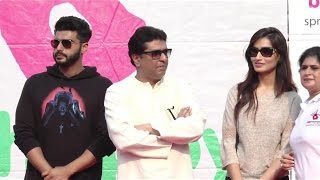 Arjun Kapoor At Be Happy Spreading Smiles HOST Lokhandwala Street Festival