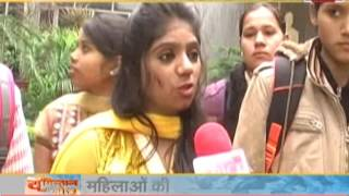 watch our show 'youngistan ki soch' our correspondent talk with youth of bareli