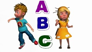 ABC Song For Childrens - Pre Nursery Rhymes - Alphabets Rhymes - TSP Kids Rhymes
