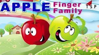 Finger Family Songs Latest - Apple Finger Family - Baby Nursery Rhymes | TSP Kids Rhymes