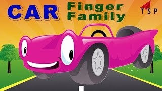 Car Finger Family - 3D Animated Rhymes For Childrens - Finger Family Songs | TSP Kids Rhymes