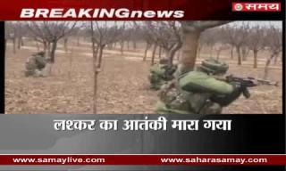 Militant killed in Kashmir gunfight