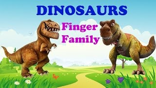 Dinosaurs Rhymes - Dinosaurs Finger Family Song - Animals Kids Songs  |TSP Kids Rhymes