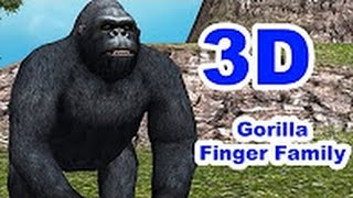 Crazy Gorilla Finger Family Nursery Rhymes Collection for Children  | TSP Kids Rhymes