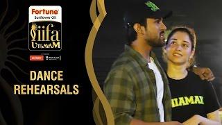 IIFA Utsavam All Dance pratices Green Carpet Be1forChennai IIFA Utsavam 2016