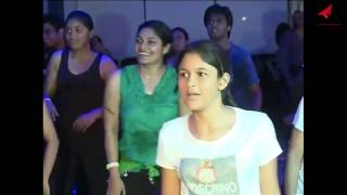Funny Dance party Indian dancing for Fitness Dance studio