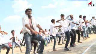 Flash Mob Dance pawan kalyan & chiranjeevi super hit songs dance - 2016