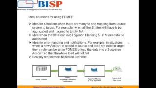 FDMEE  Intro Session