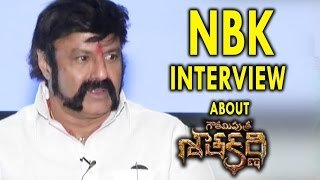 Nandamuri Balakrishna Interview about Gautamiputra Satakarni