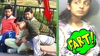 Awkward Fart Prank gone wrong Ft  Madness Pranks !! Pranks in India 2017
