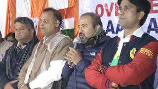 Aap Delhi Convener gives warm welcome to Aap overseas Volunteers