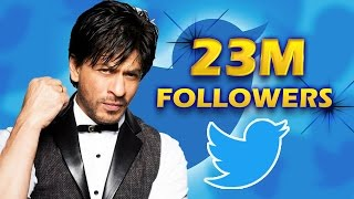 Shahrukh Khan CROSSES 23 Million Followers - King Of Social Media