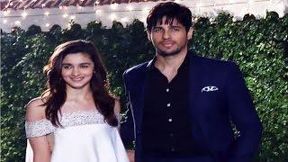 Alia Bhatt & Sidharth Malhotra Together At Ronnie Screwvala's Daughter's Wedding