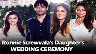 Bollywood Celebs At Ronnie Screwvala's Daughter's Wedding | Katrina Kaif, Sidharth Malhotra, Alia