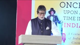Amitabh Bachchan Launches The book 'Once Upon A Time In India' 2017