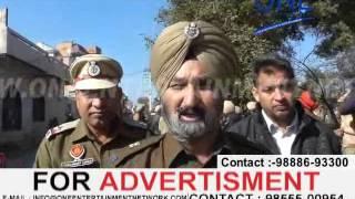 jalandhar police ka paramilitary force ke saat flag march | punjab elections 2017
