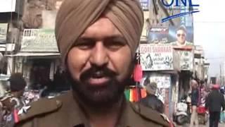 moga police checking during elections 2017 punjab security alert in punjab