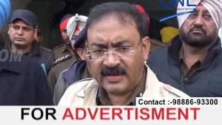 gangwar in jalandhar full security bawjood gangster shot by another gang | jalandhar