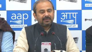 Aap Leader Dilip Pandey briefs on RSS/BJP conspiracy to end Reservation for backward sections