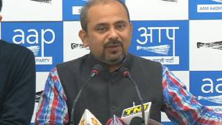 Aap Delhi Convener Briefs on Modi Govt Using State commissionaires to Create at Fuzz in Aap