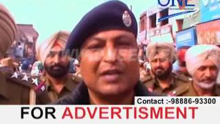 gardiwaala punjab elections 2017 police force security flag march polling centers security
