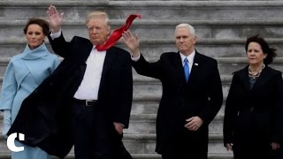 Highlights from Donald Trump's inauguration as the 45th President of USA