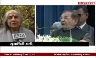 Subhashini Ali over Sharad Yadav's shameful statement on Compared to vote from Daughter