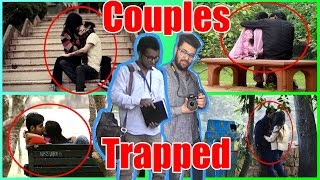 My Girlfriend Trapped by two Journalist | Pranks in India 2017 | Unglibaaz