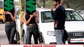 Gold DIGGER Prank -BF Exposes GF (Pranks in INDIA)