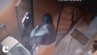 WATCH : Mother throws 2-year-old child from first floor