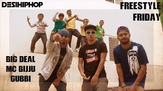 #FreestyleFriday Big Deal MC Bijju Gubbi Desi Hip Hop Inc