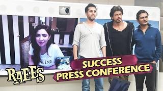 RAEES SUCCESS Press Conference - FULL VIDEO - Shahrukh Khan, Mahira Khan, Nawazuddin