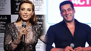 Iulia Vantur MISSED Salman Khan At Her FIRST RAMP WALK At Lakme Fashion Week 2017