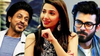 Mahira Khan COMPARES Shahrukh Khan & Fawad Khan - BEST REPLY