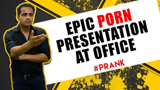 Epic Porn Presentation at Office VD Pranks