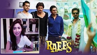 Shahrukh CELEBRATES Raees Success With Mahira, Shahrukh's RAEES Enters POLITICS