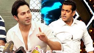 When Salman Khan Wanted To SLAP Varun Dhawan - Must Watch