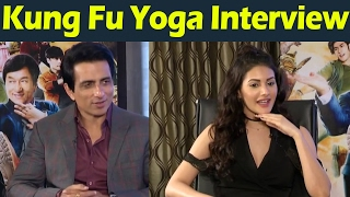 Kung Fu Yoga Team Interview Sonu Sood Amyra Dastur #tollywoodlatestnews