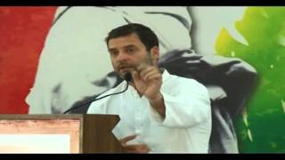 Congress VP Rahul Gandhi on BJP's Negative Campaign Strategy