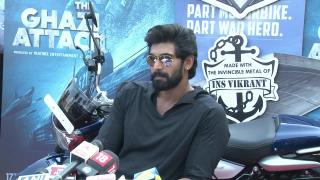 "Actor Rana Daggubati is ""Professional Deep Sea Diver"""