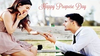 Happy Propose day 2017 - Romantic message