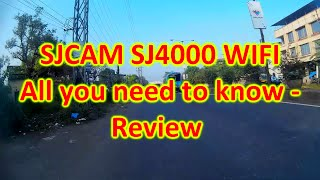 After 6 Months using SJCAM SJ4000 WIFI - All you need to know Review - Motovlog