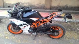 KTM RC390 | RC200 Seat Cowl Removed